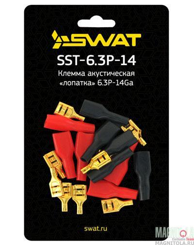 3861)Клемма акустическая Swat SST-6.3P-14