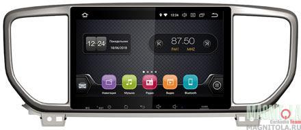 "7146)ШГУ KIA Sportage 18+ Luxe, Prestige (INCAR TSA-1849LP) Android 8.1, 1024*600, IPS, wi-fi, 9"""