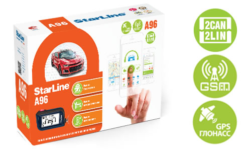 4216)Star Line A96 2CAN+2LIN GSM-GPS