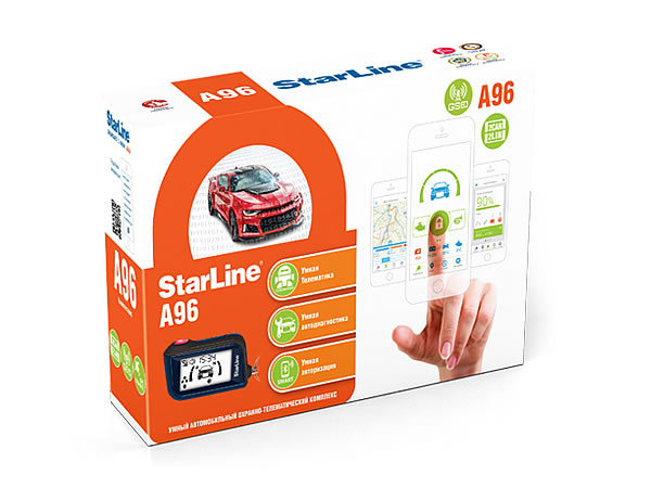7064)Star Line A96 2CAN+2LIN GSM