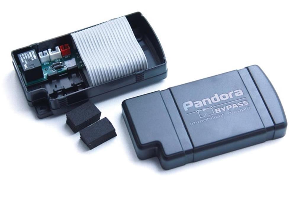 1.Обходчик иммобилайзера Pandora DI-3