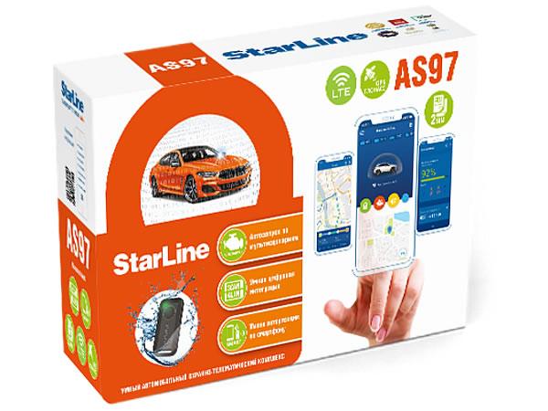 17235)StarLine AS97 2SIM LTE-GPS