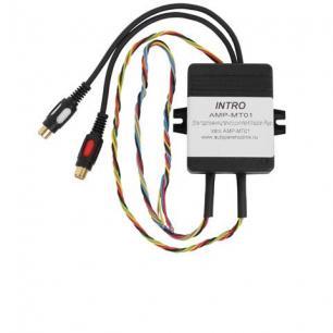 5998)INTRO AMP-MT01 (усилитель Mitsubishi Pajero-4)