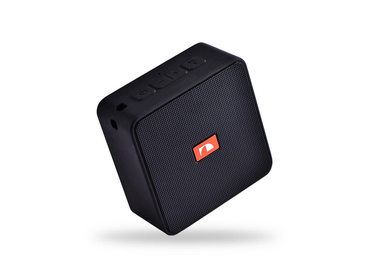 14706)Nakamichi Cubebox BLK портативная акустика