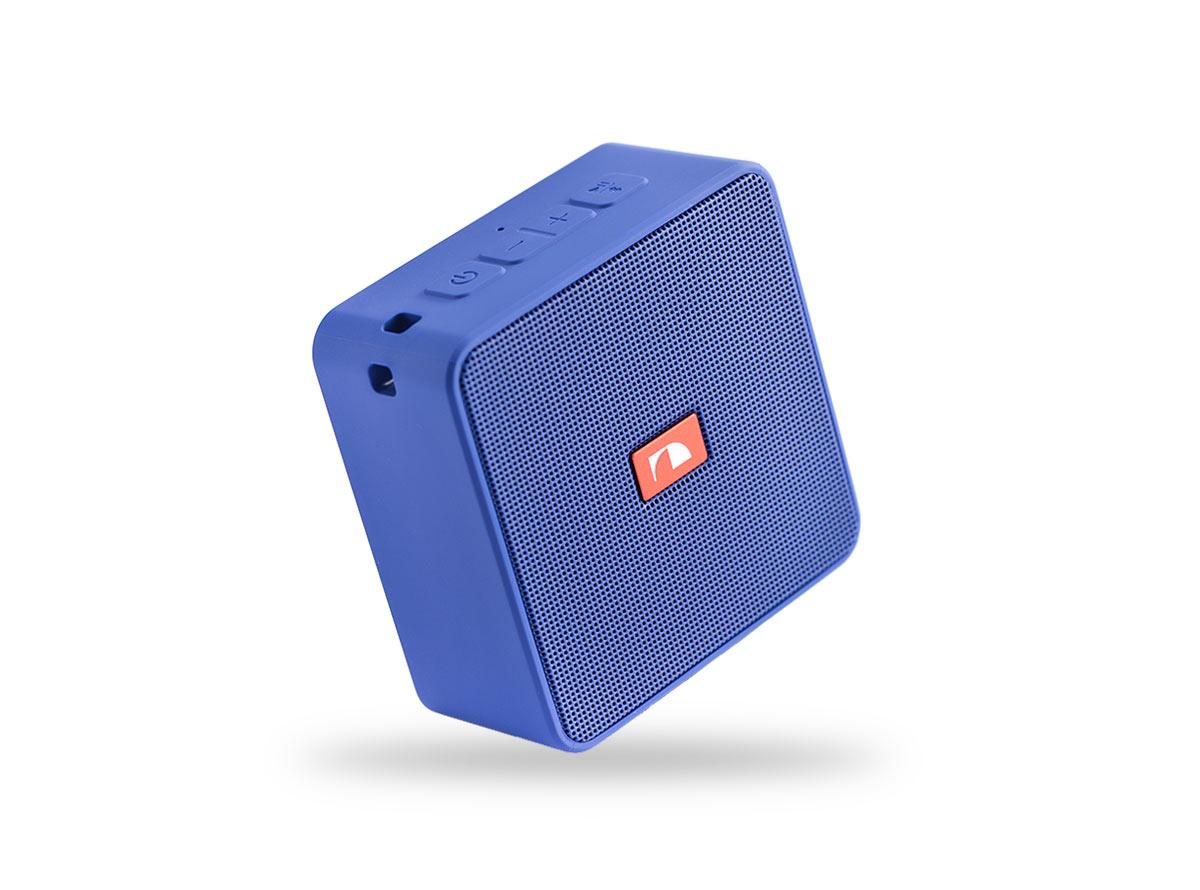 14707)Nakamichi Cubebox BLU портативная акустика