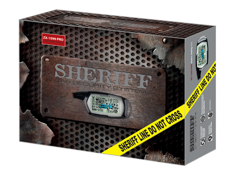 2534)SHERIFF ZX-1090Pro