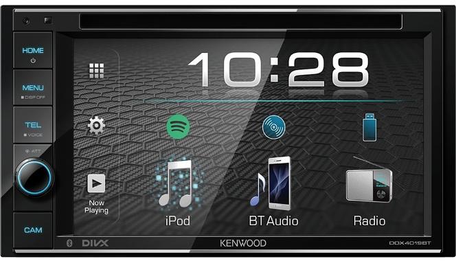 6039)Kenwood DDX-4019BTR