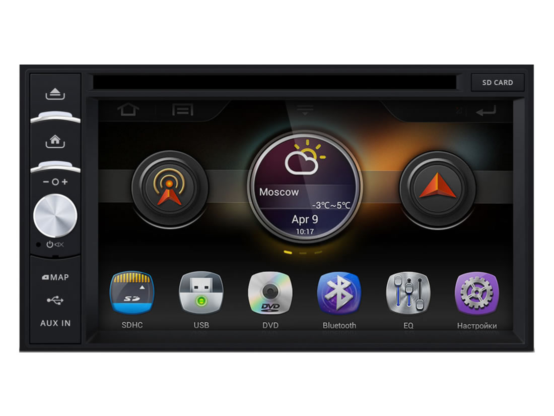 3292)Ford Focus 2, C-Max, Kuga, Fusion, Fiesta 05+, S-Max, Transit (INCAR 82-3301)