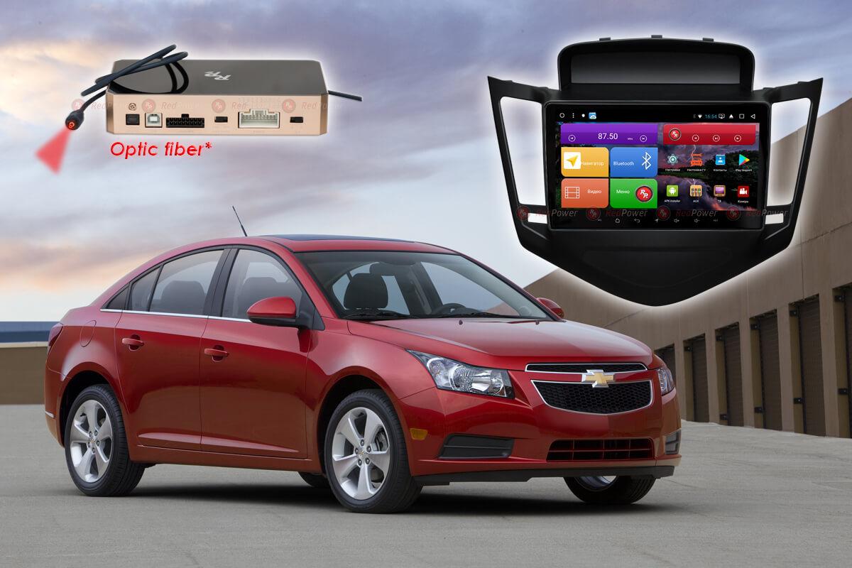 11660)Установочный комплект 9,2' K51045 IPS DSP Chevrolet Cruze (2009-2012) (Black)