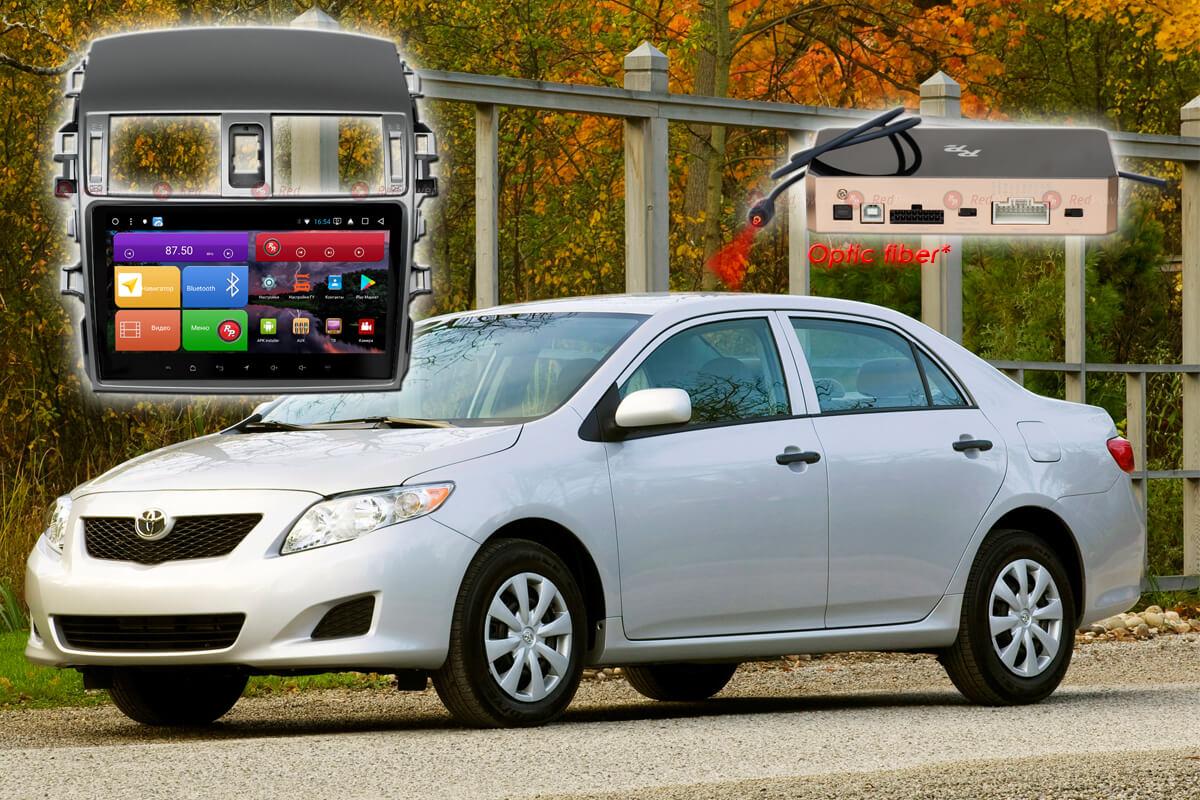 11663)Установочный комплект 9,2' K51063 IPS DSP Toyota Corolla (2007-2012)