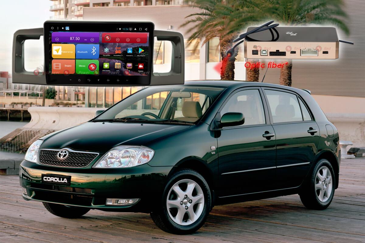 11667)Установочный комплект 9,2' K51070 IPS DSP Toyota Corolla E120(2000-07) без рег-ов воздуховодов