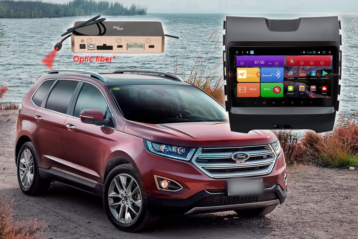 11679)Установочный комплект 9,2' K51138 IPS DSP Ford Edge (2015+) комплектация с маленьким дисплеем