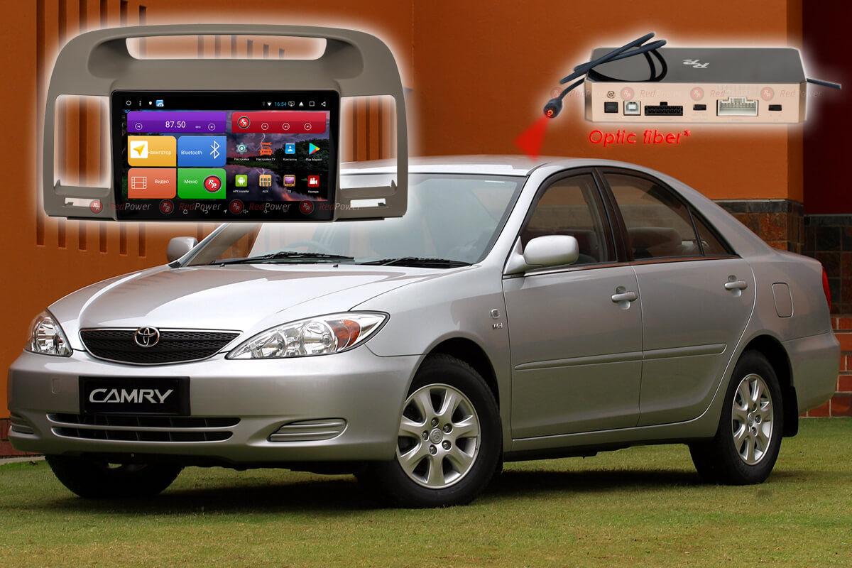 11685)Установочный комплект 9,2' K51164 IPS DSP Toyota Camry (2001-2006)