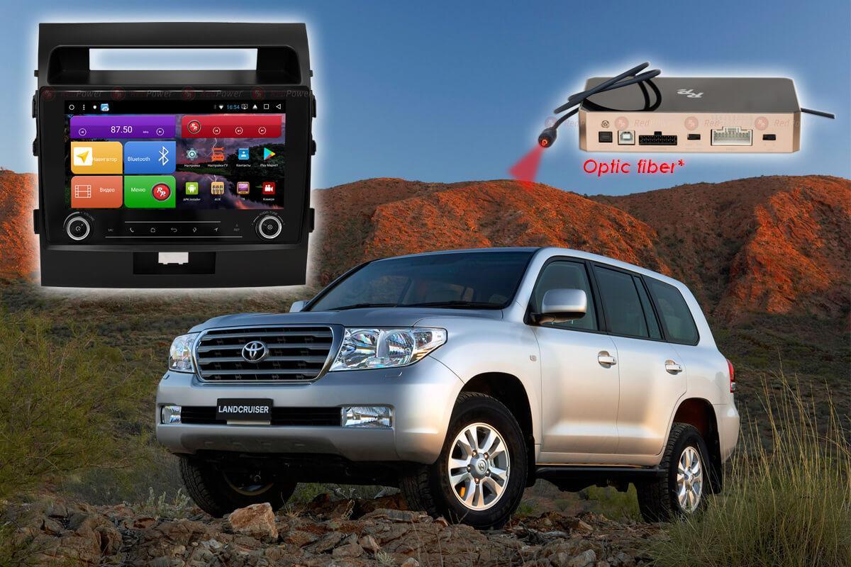 11727)Установочный комплект 9,2' KNOB K51200 IPS DSP Toyota Land Cruiser 200 (2007-2014) (матовая)
