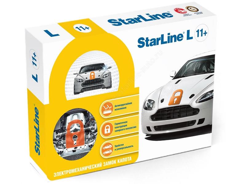 7076)Замок капота StarLine L11+
