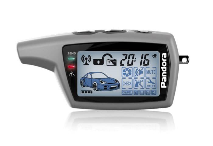 11973)Брелок LCD DXL 077 grey DX 40/DX 50/X-3010