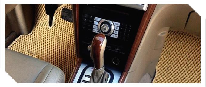 7758)Водительский и пассажирский коврики