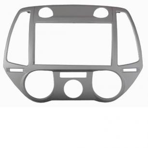 767)Hyundai i-20 2012-14 2din silver (Intro RHY-N40)
