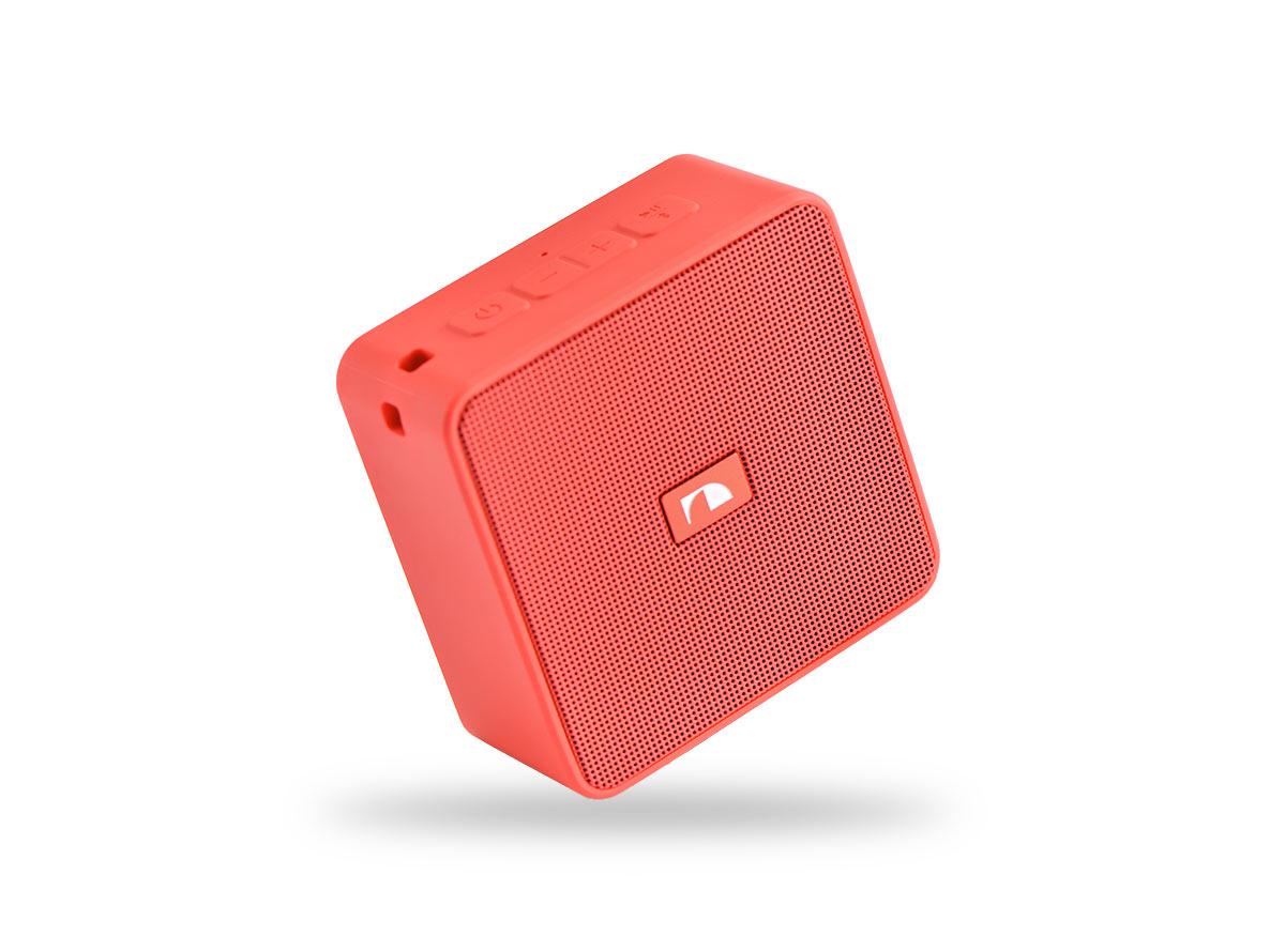 14708)Nakamichi Cubebox RED портативная акустика