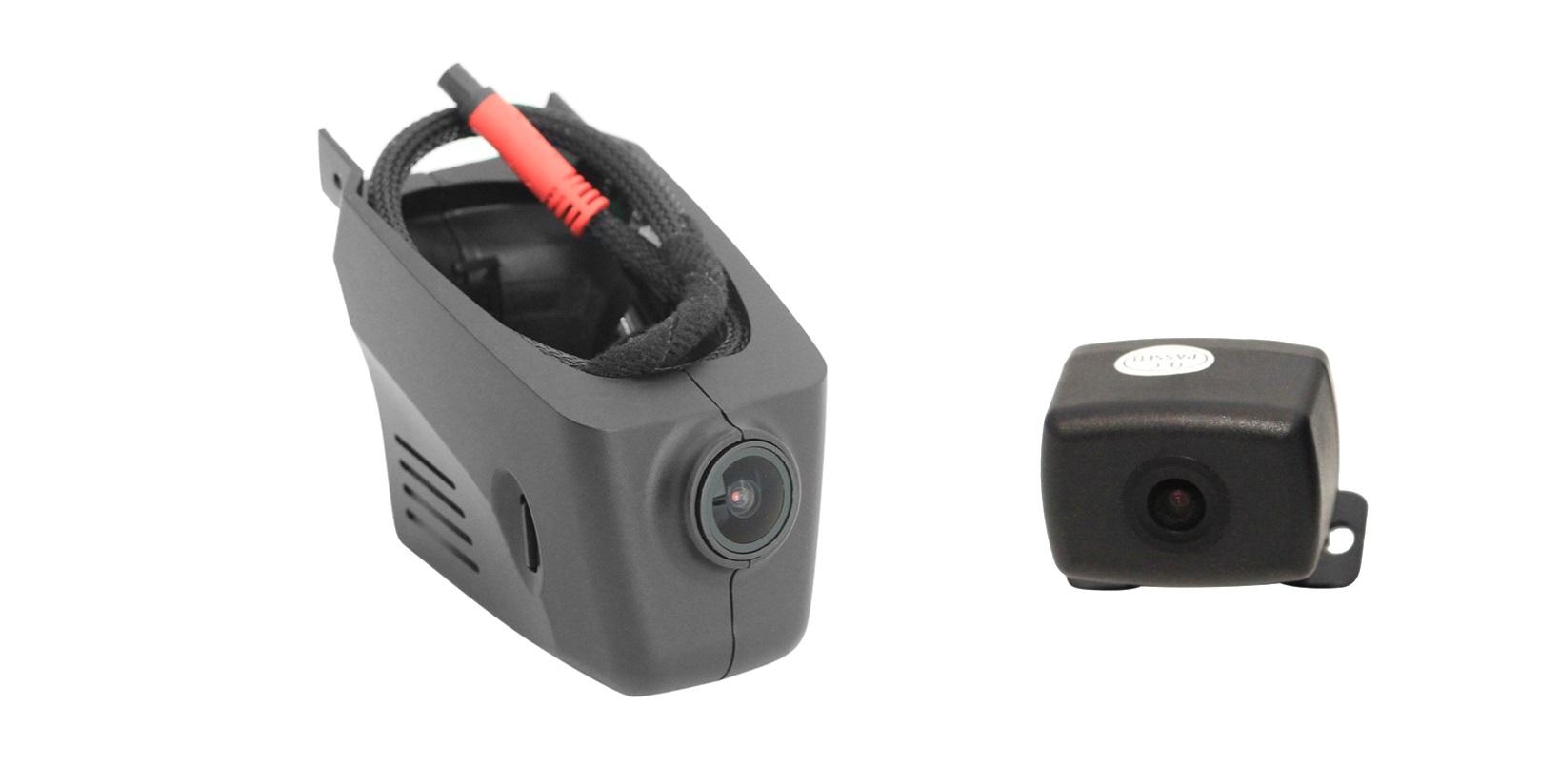 10681)Двухканальный видеорегистратор Redpower DVR-PC-N DUAL (Porsche 2011+)