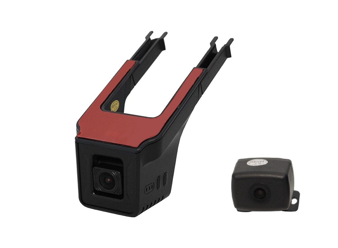 9651)Двухканальный видеорегистратор Redpower DVR-UNI-N DUAL (без SD карты в комплекте)