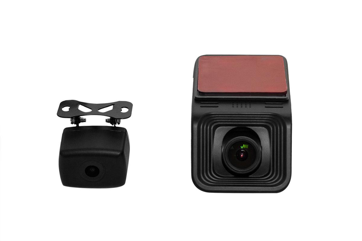 9653)Двухканальный видеорегистратор Redpower DVR-UNI3-N DUAL (без SD карты в комплекте)