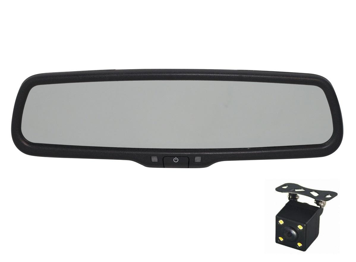 9523)Зеркало Redpower MD43 New с камерой (выберите ножку-крепление бесплатно)