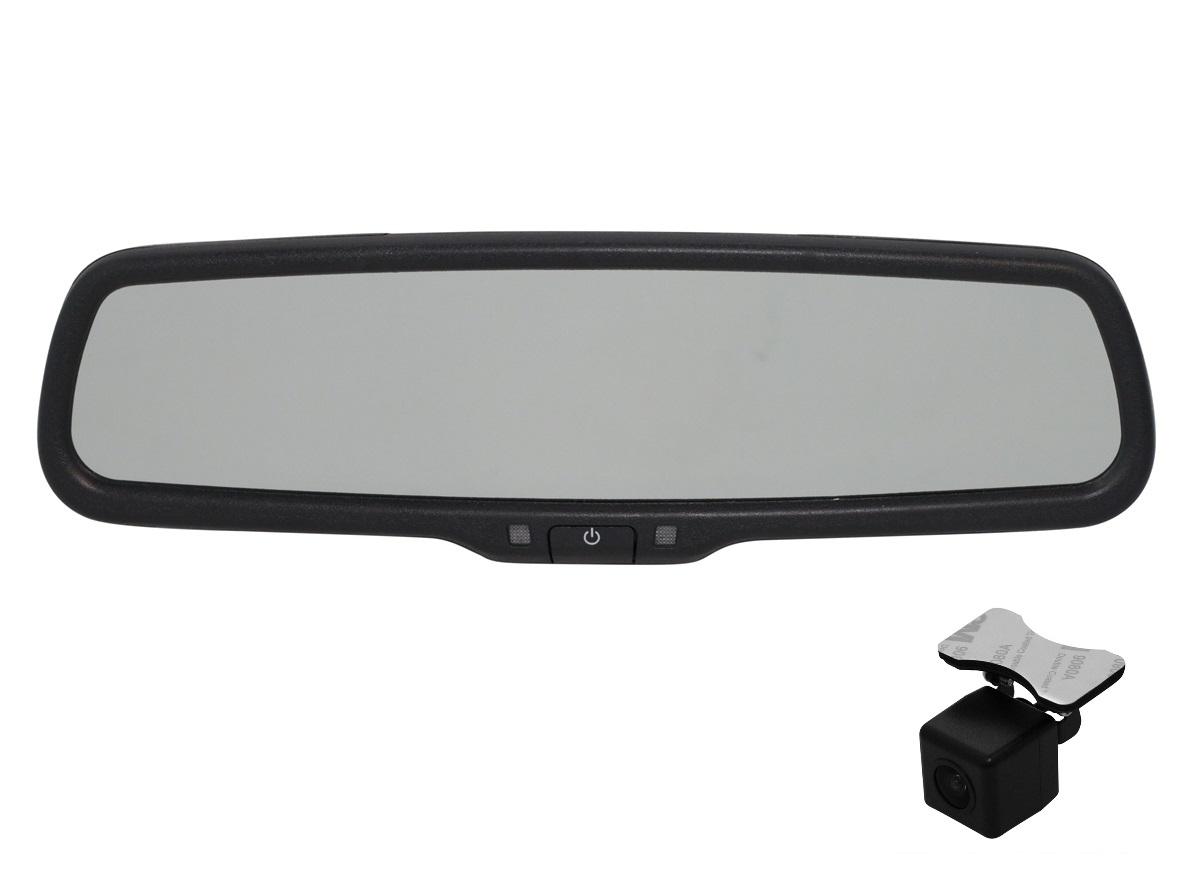 9524)Зеркало Redpower MD50 с камерой ((выберите ножку-крепление и плафон бесплатно) без SD)