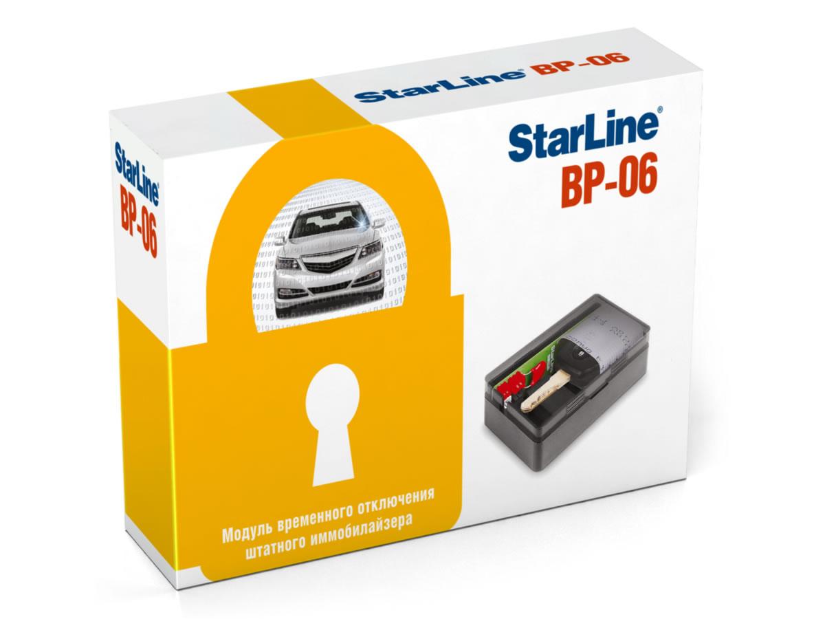 5867)Модуль обхода иммобилайзера StarLine BP-06