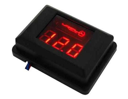 5044)Вольтметр URAL DB красный